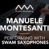 Manuele Montesanti performs with SWAM Baritone Sax