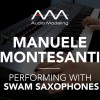 Manuele Montesanti performs with SWAM Baritone Sax