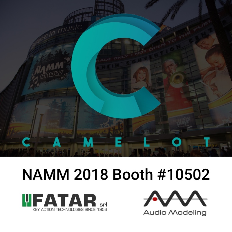 Audio Modeling will be at Winter NAMM Show 2018